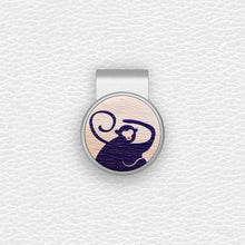 Load image into Gallery viewer, Oriental Zodiac Monkey - Silver Clip - birdea