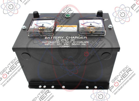 Generac 079535/0D3490 10A 12V Battery Charger