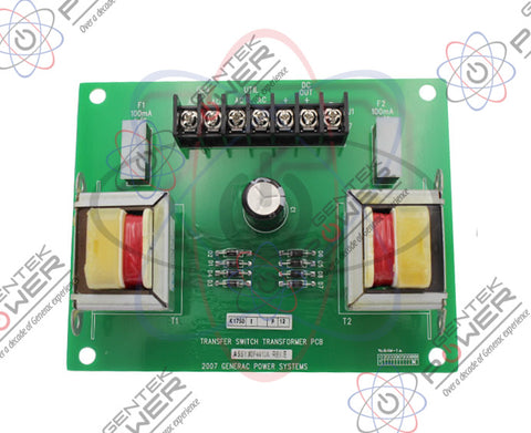 Generac 0F4410A 240V Transformer PCB For Transfer Switch