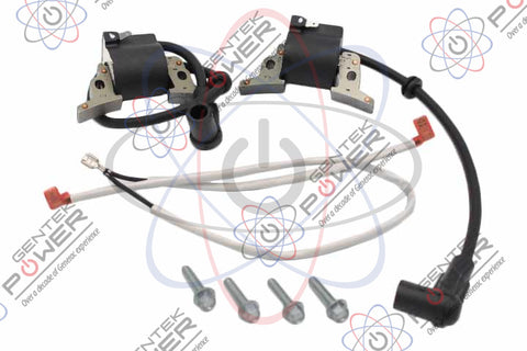 Generac 0K63030SRV Ignition Coil Pack Replacement Kit For Air Cooled Generators