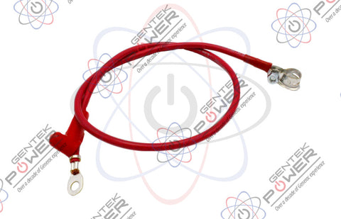 "Generac 0388040AJ0/0J9419B/0L5407 Replacement Red Positive Battery Cable 38.5"" Long"
