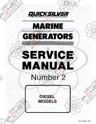 Generac 1.0L Diesel Engine Service Manual 070939