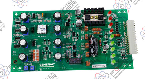 Generac 92734/092734/0927340SRV In Phase Monitor PCB For GTS Transfer Switch