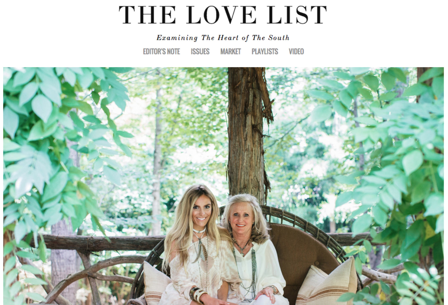 "The Love List ""Inheriting Style"""