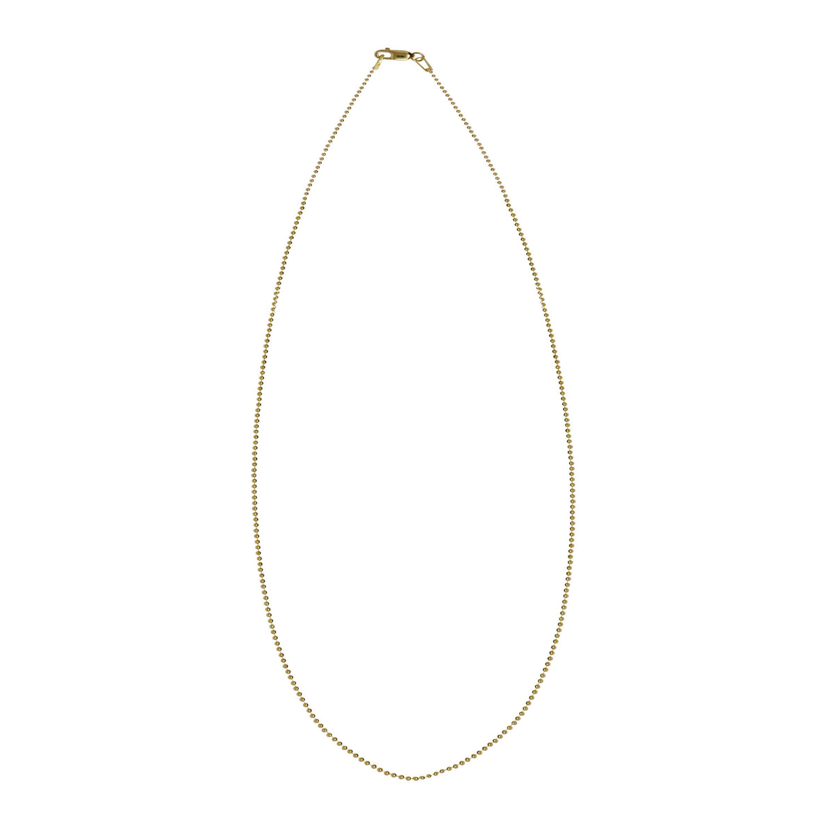 14k Ball Chain Necklace