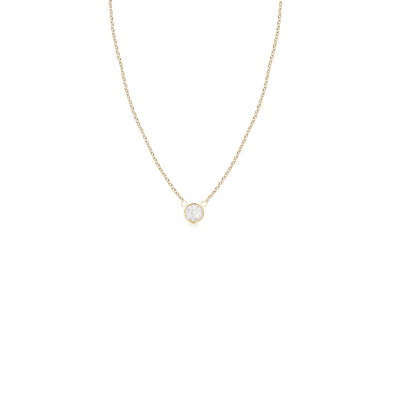 14k 6mm Gold Diamond Necklace