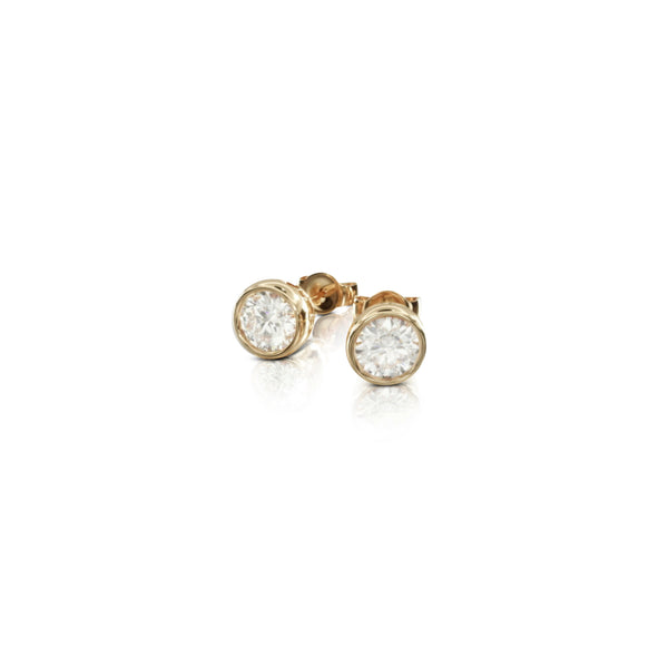 6mm Bezel Set Stud