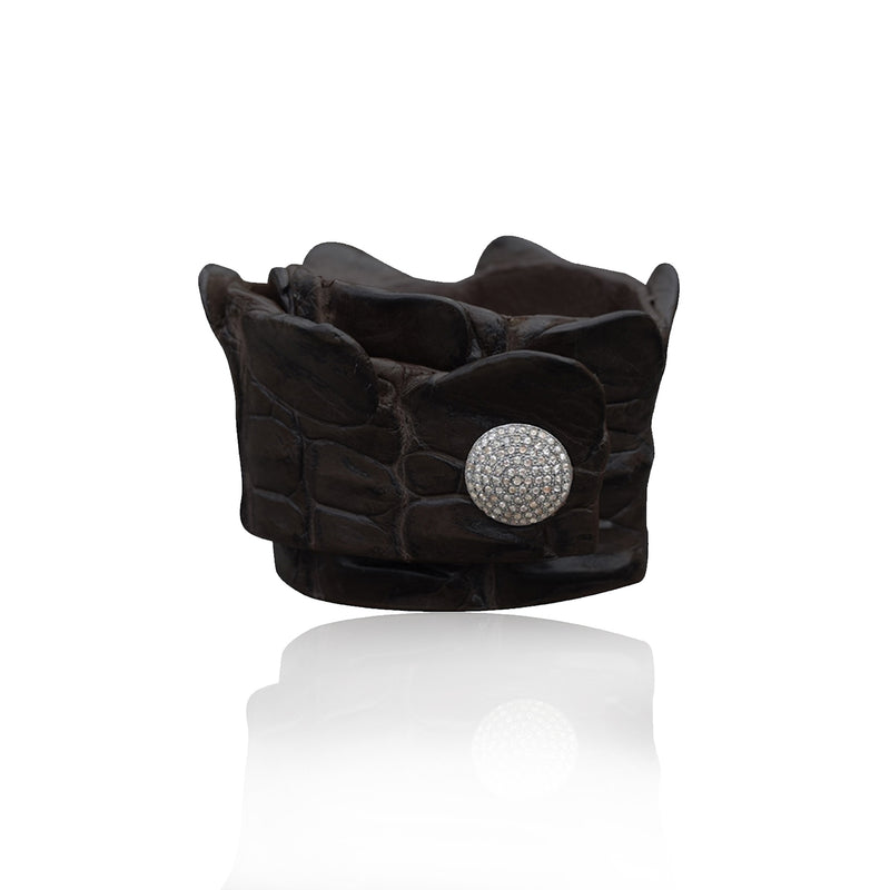 Crocodile Snap Wrap Black