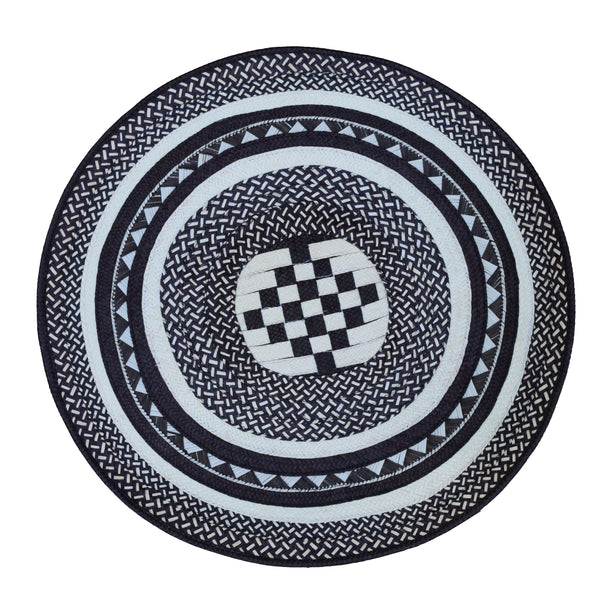 Black Placemat Set