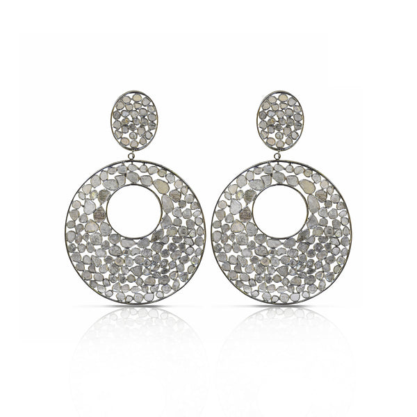 Disco Diamond Earrings
