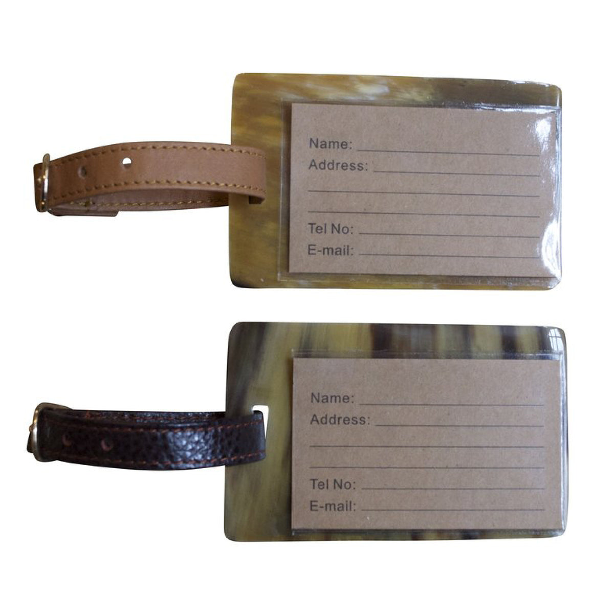 Horn Luggage Tag