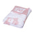 Little Bonbon Baby Blanket 100cm x 80cm - It's A Hoot Pink/White