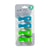 All4Ella Pram Pegs Quad Pack - Blue Green Fluro