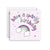 Sprout and Sparrow Sparkly Birthday Greeting Card (Small)