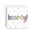 Sprout and Sparrow Hooray Confetti Greeting Card (Small)