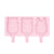 We Might Be Tiny Frosties Icy Pole Moulds - Powder Pink