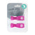 All4Ella Pram Pegs Twin Pack - Pink