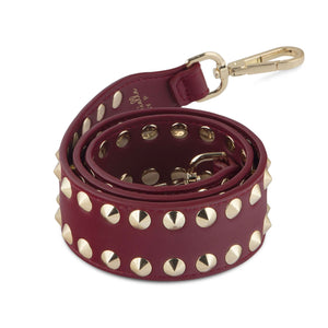 "Double Stud Bag Strap ""Long Length"" - Gabriellebyp"
