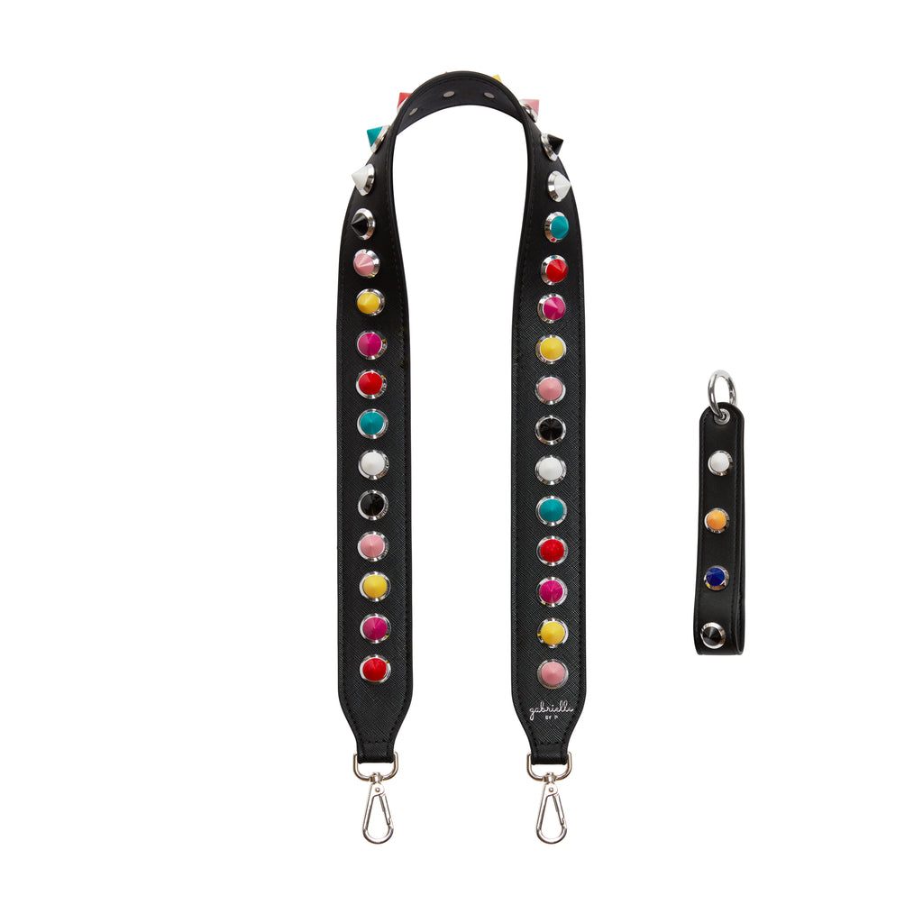 Black Rainbow Kit (Bag Strap + Key Ring)