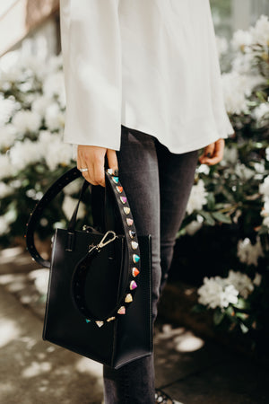 "Colorful Studded Bag Strap ""Long Length"""