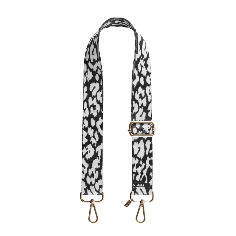 Adjustable Leopard Bag Strap - Gabriellebyp