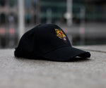 "THE ""TEYEGER"" BLACK DISTRESSED CAP"