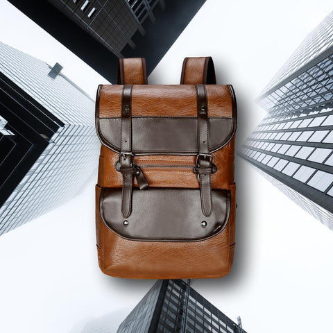 The Kenson - Premium Leather Backpack