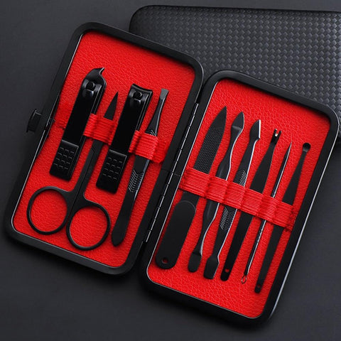 Moonvrin Stainless Steel Professional Nail Kit