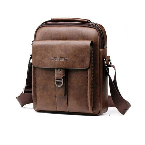 Idasen Series - Premium Leather Tablet Bag