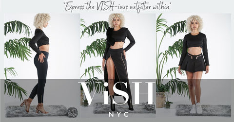 express yourself with vish nyc athleisure clothing