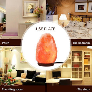 Rock Salt Table Lamp & Air Purifier