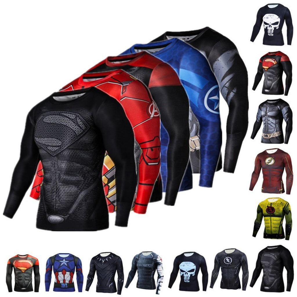 Super Hero Compression T shirts