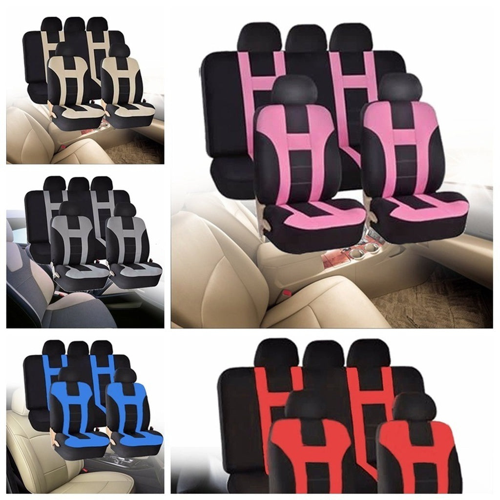 Universal Full 9 Piece Set Seat Covers