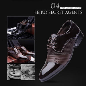 Men Leather Dress Shoes