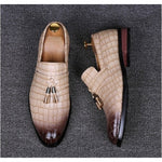 Alligator Leather Business Shoes