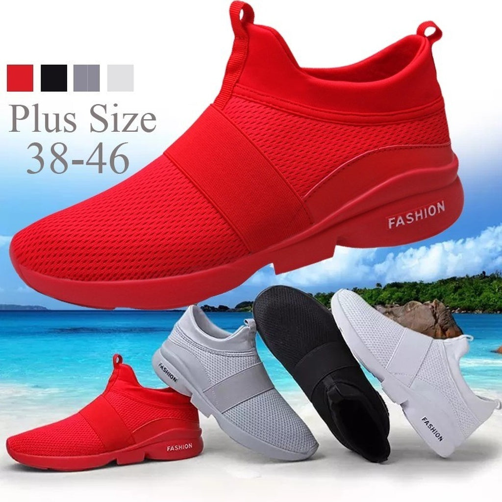 Fashion Runners Men's Breathable Mesh Sneakers