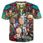 Rick & Morty  3D T-shirt