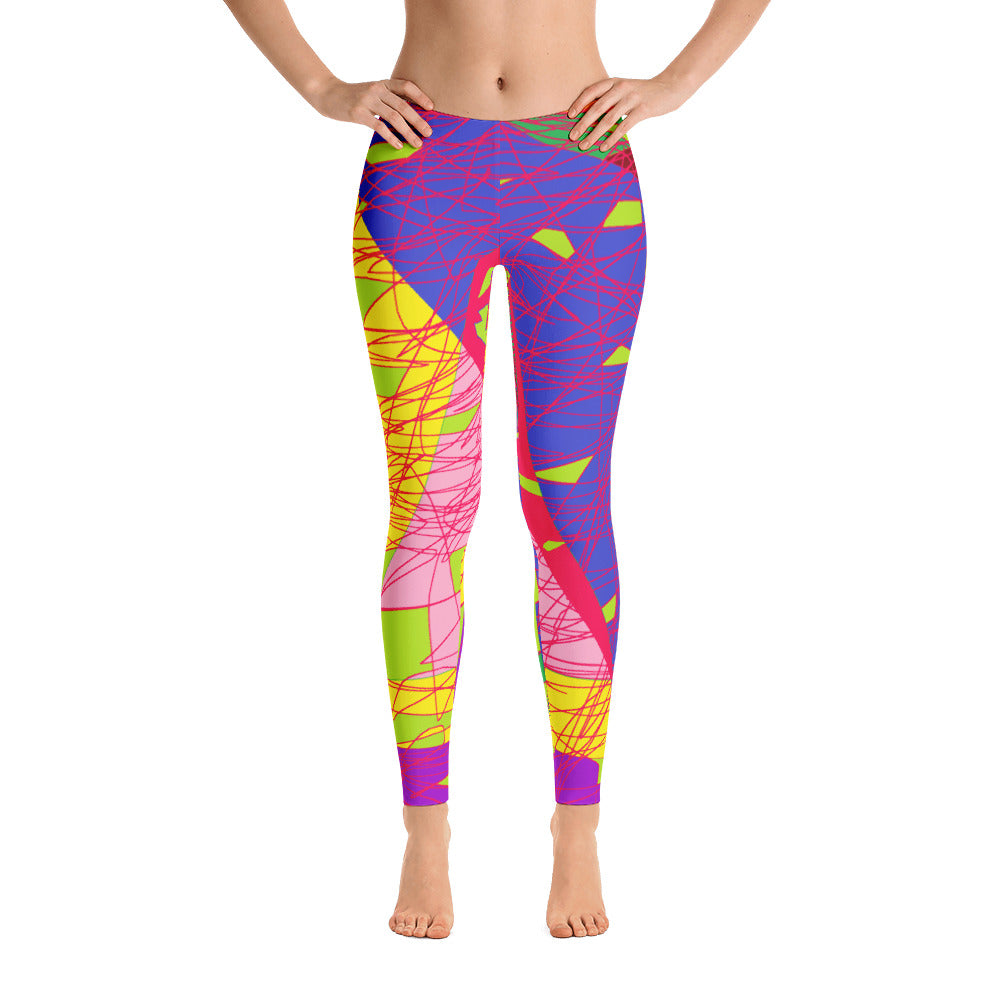 Women's Colorful Exercise Leggings
