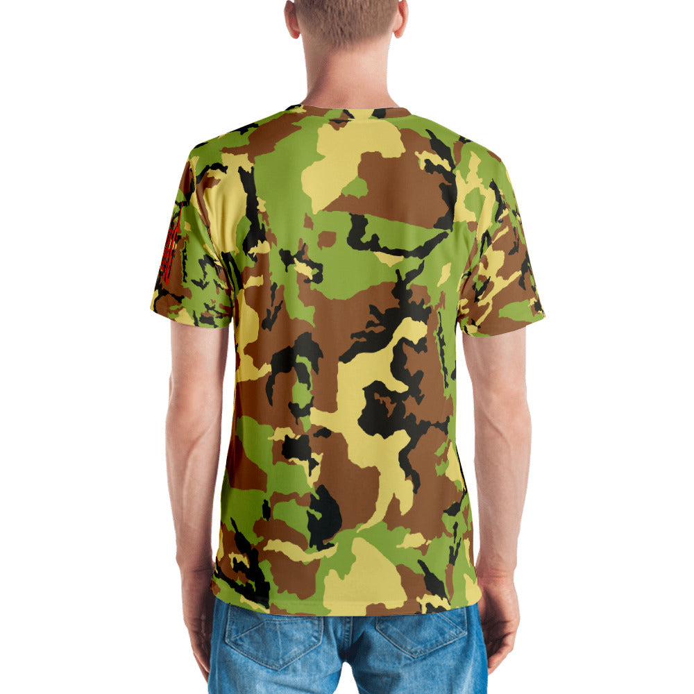 Camouflage Fight The Laziness T-shirt