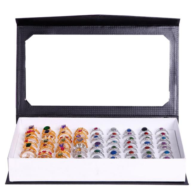 High-grade 72 Slot Ring Box