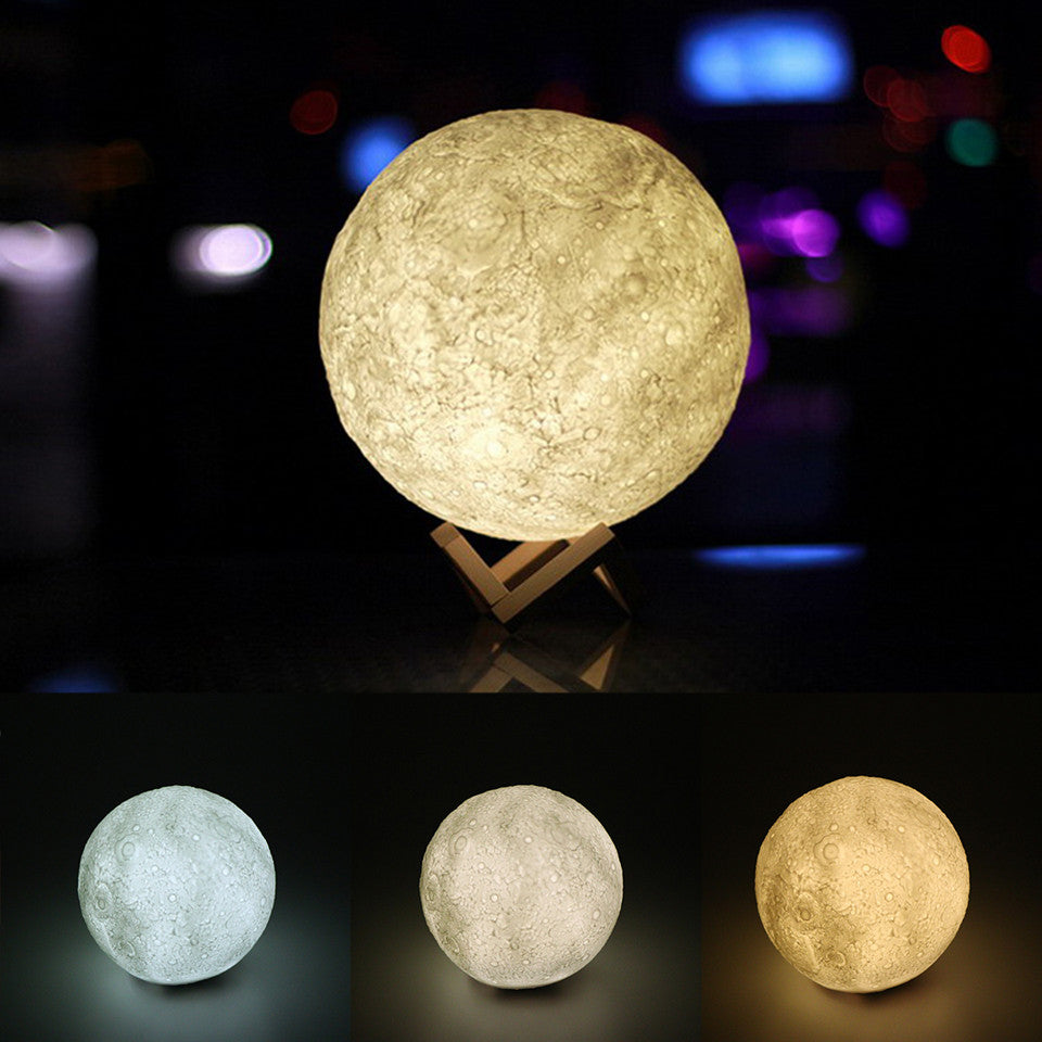 3D Magical Moon Night Light