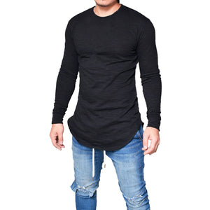 Men Slim Fit Long Sleeve T-Shirt