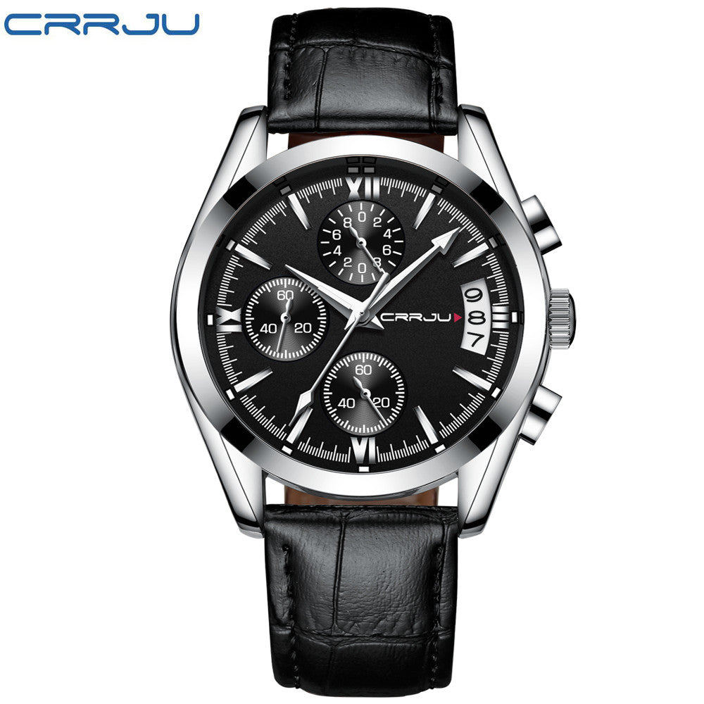 Men's Chronograph Analog Watch with Date
