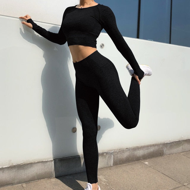 Seamless Yoga Outfit