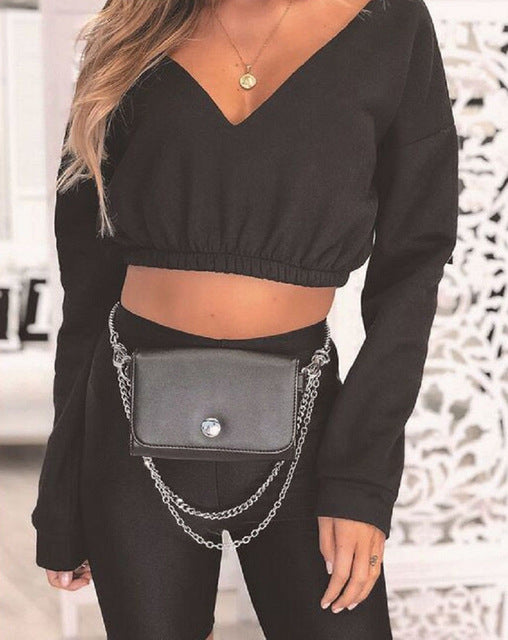 Sassy Cropped Top