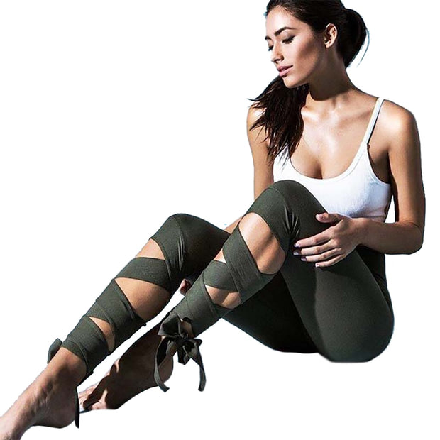 Ballerina Tie-Up Leggings