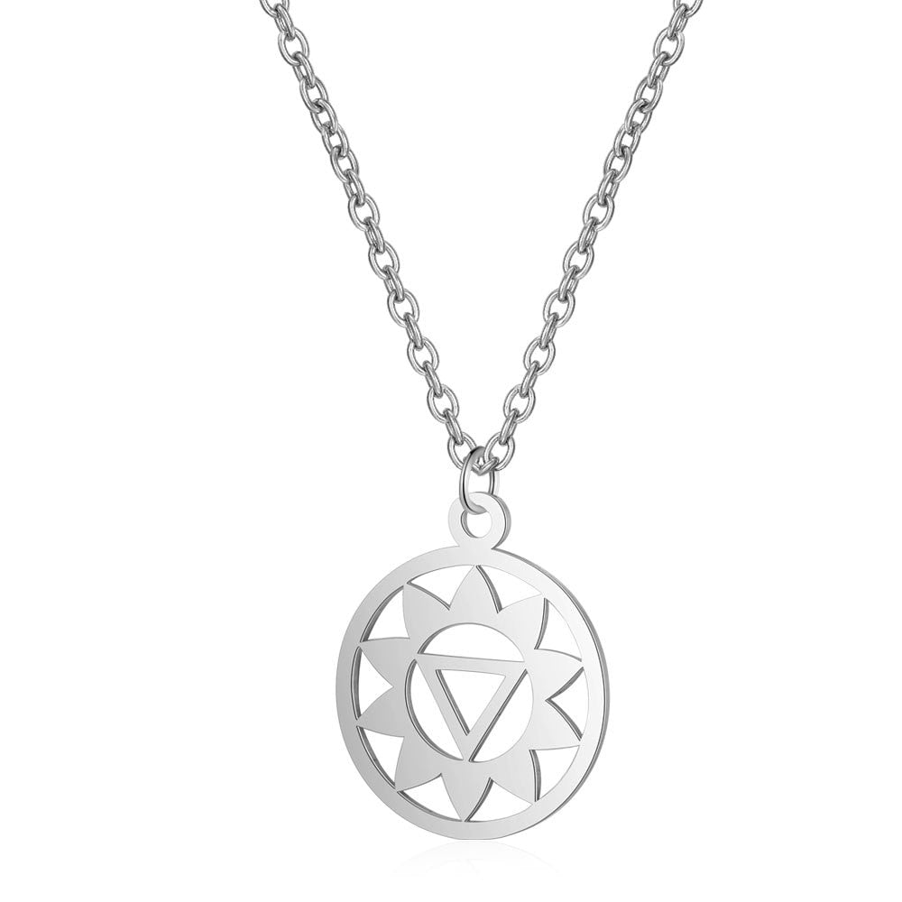 Nephythys Necklace Silver