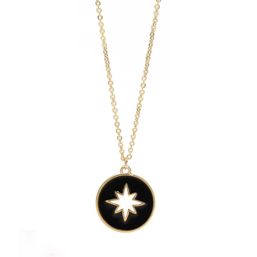 Nathifa Chain Star Necklace