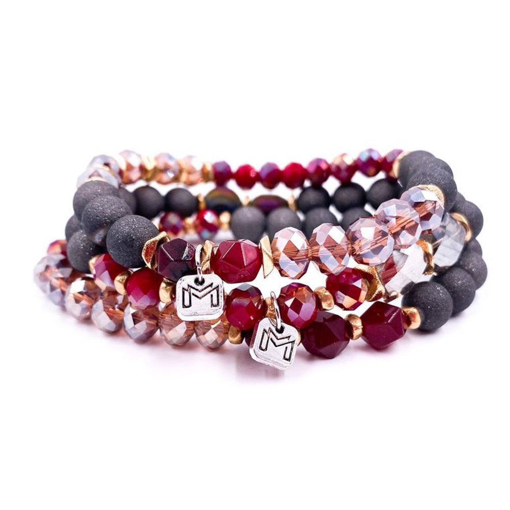 Roma Stacking  Bracelet Set - Shopbluemoonbentonville
