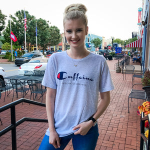 Caffeine Champion Graphic T-shirt - Shopbluemoonbentonville